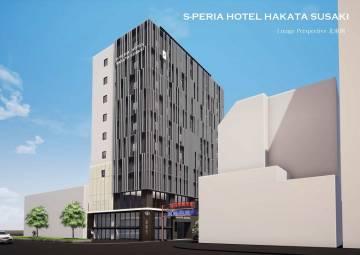 エスペリアホテル福岡中洲 外観イメージ